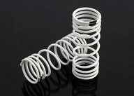 Traxxas 6857 Springs, front (white) (progressive rate) (2)