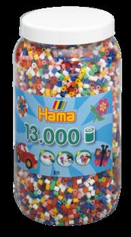 Hama 211-00  13000st  10 färg på burk