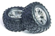 "Maxam 08043c 2,8"" black truck tires and wheels"
