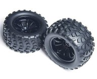 "Maxam 08071  2,8"" black truck tires and wheels"