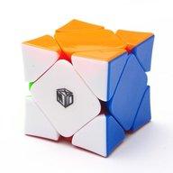 Wingy skewb cube