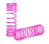 Traxxas 5857P Springs, front (pink) (progressive rate) (2)