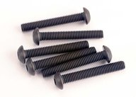 Traxxas 2580 Screws, 3x20mm button-head machine (hex drive) (6)