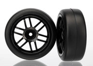 Traxxas 7376 Rally wheels, black (2)