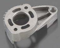 Traxxas 7360 Motor mount, finned aluminum (for 550 motors)