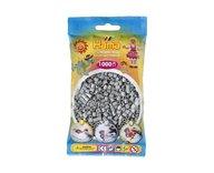 Hama 207-17 midi pärlor 1000st grå