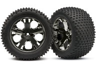 "Traxxas 3770A Alias Tires 2.8"" on wheels"