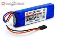 Vapex VP93541 Receiver Battery Li-Fe 6,6V 1600mAh Flat