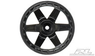Proline 2729-03 Desperado Black wheels 2.8""
