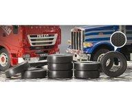 Italeri 3889S 1:24 Truck Rubber tires 8pcs