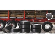 Italeri 3890S 1:24 Truck Rubber tires 8pcs