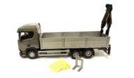 Emek 50600 Scania CR med Hiab kran