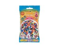Hama 207-00 midi pärlor 1000st 10 färger
