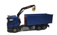 Emek 25800 Scania återvinningsbil med kran