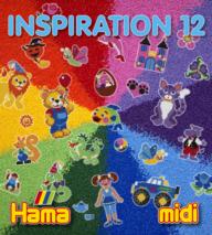 Hama midi 399-12 inspirations bok 12