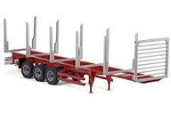 Carson 500907082 1/14 3-Axle Stanchion trailer II