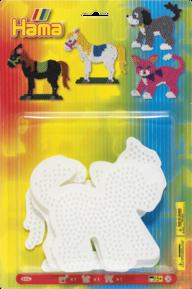 Hama 4556 midi Häst, hund och katt plattor