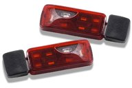 Carson rear lights, 6 sections (2 pieces)