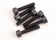 Traxxas 2586 Head Screws, 3x15mm caphead machine (hex drive) (6) (TRX 2.5)