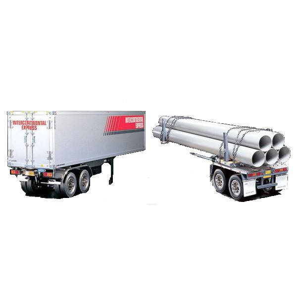 Lastbils trailer