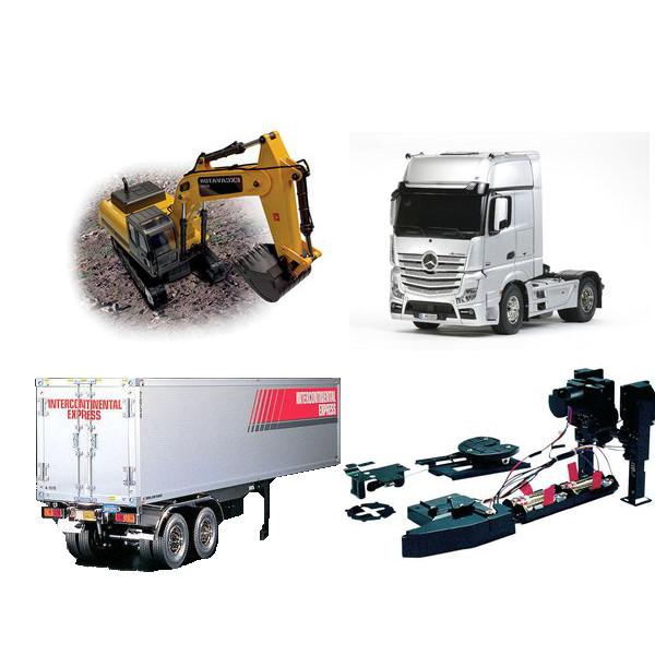 Lastbilar och arbetsmaskiner